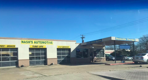 Nash's Automotive store front in Allen